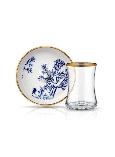 Tiryaki Çay Set 6'lı Bb Bahar-Koleksiyon